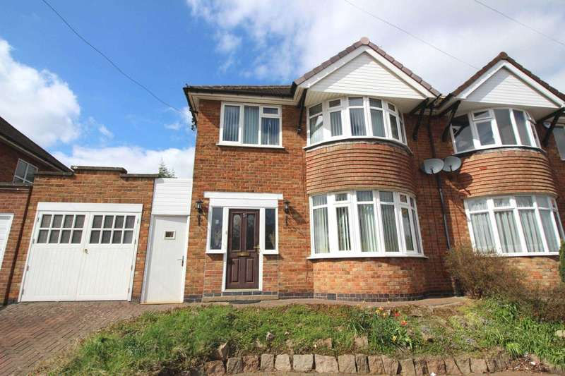 3 Bedrooms Semi Detached House for sale in Fulbeck Avenue, Evington