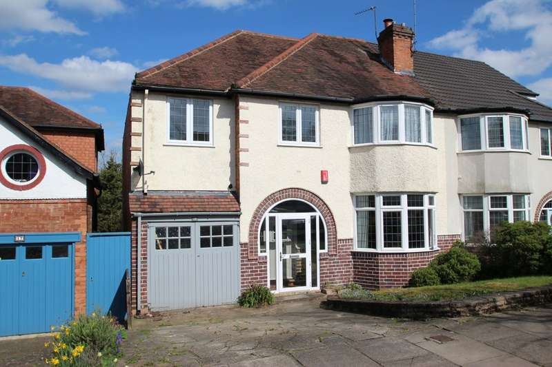 5 Bedrooms Semi Detached House for sale in Pereira Road, Harborne