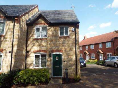 3 Bedrooms Semi Detached House for sale in Lime Kiln Close, Silverstone, Towcester, Northants