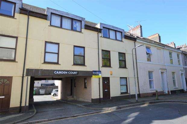 1 Bedroom Flat for sale in Camden Court, 12 Camden Street, Plymouth, Devon