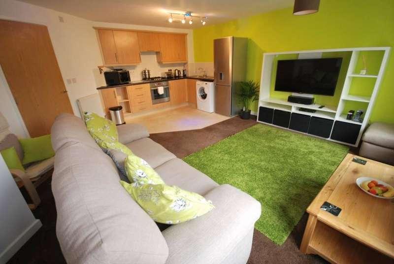 2 Bedrooms Apartment Flat for sale in Wesham Park Drive, Wesham, Preston, Lancashire, PR4 3EF