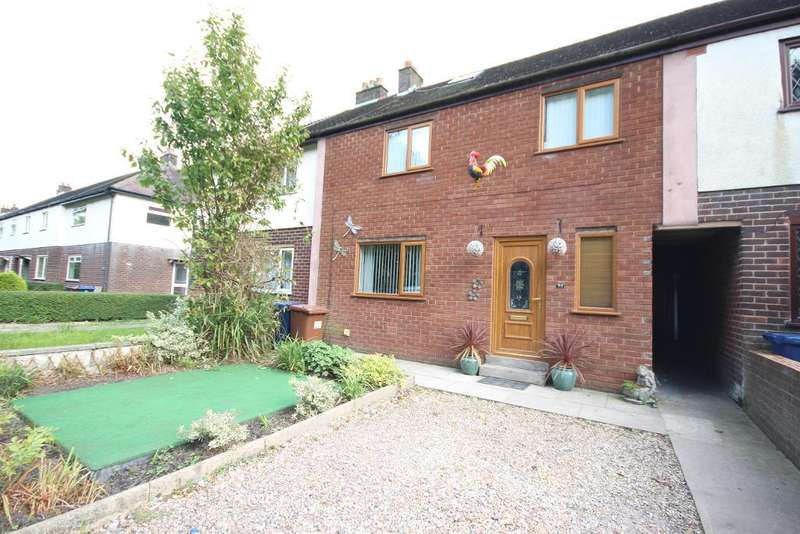 3 Bedrooms Terraced House for sale in Meanygate, Bamber Bridge, Preston, Lancashire, PR5 6UP
