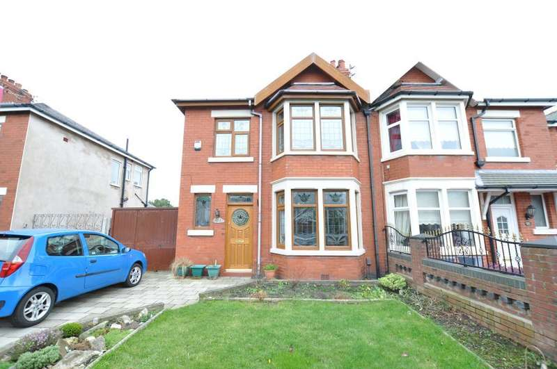 3 Bedrooms Semi Detached House for sale in Devonshire Road, Blackpool, Lancashire, FY2 0TW