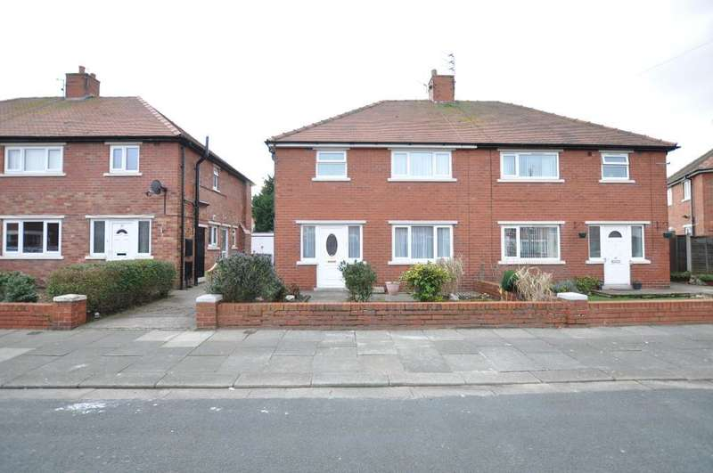 3 Bedrooms Semi Detached House for sale in Harwood Avenue, St Annes, Lancashire, FY8 2HJ