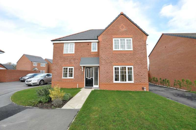 4 Bedrooms Detached House for sale in Snowdrop Grove, Warton, Preston, Lancashire, PR4 1EP