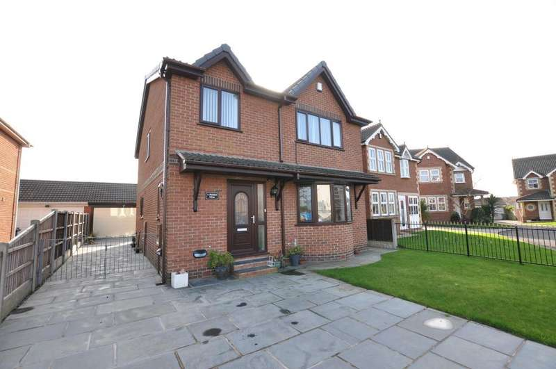 4 Bedrooms Detached House for sale in Palatine Close, Staining, Blackpool, Lancashire, FY3 0EG