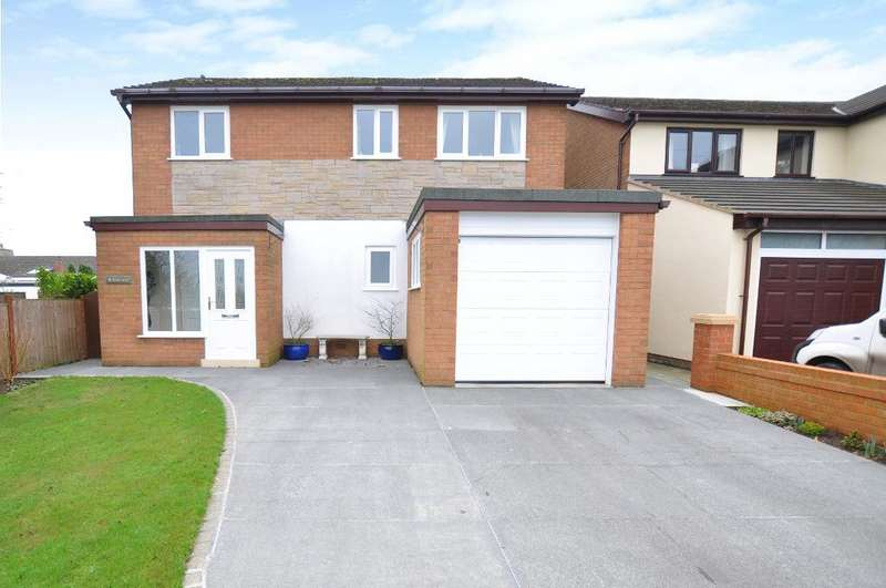3 Bedrooms Detached House for sale in Kirkham Road, Treales, Preston, Lancashire, PR4 3SD