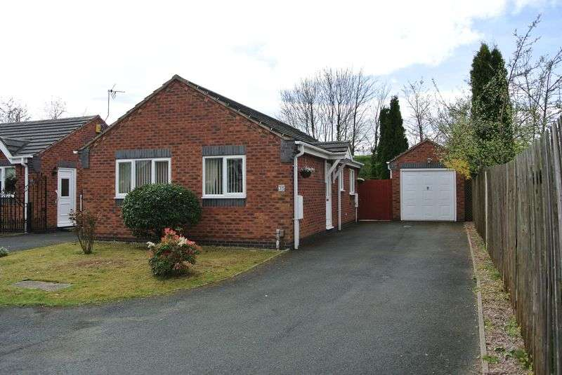 2 Bedrooms Detached Bungalow for sale in Trench Close, Trench, Telford, Shropshire.