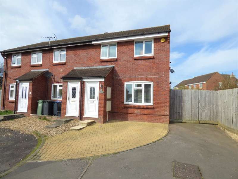 3 Bedrooms End Of Terrace House for sale in Phipps Close, Westbury