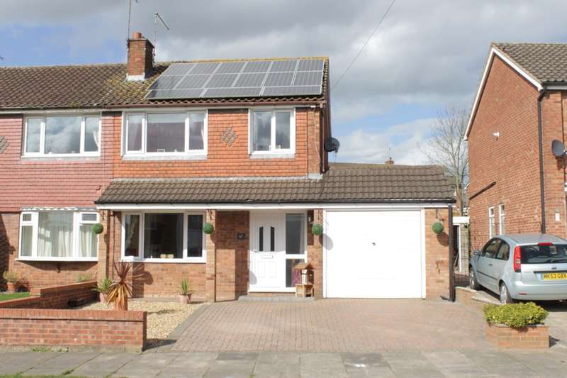 3 Bedrooms Semi Detached House for sale in Marriott Road, Sandbach, Cheshire, CW11