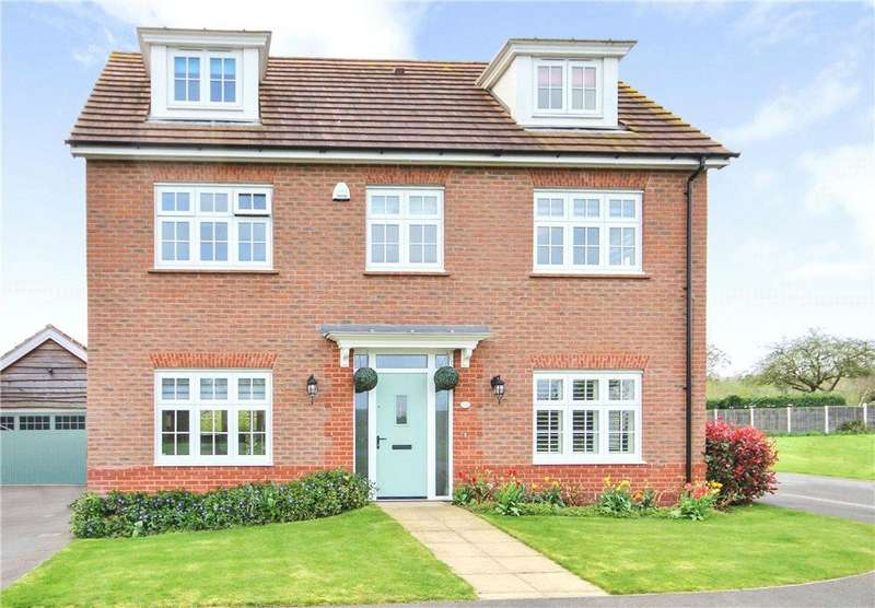 5 Bedrooms Detached House for sale in Howburyfield Avenue, Worcester, Worcestershire, WR2