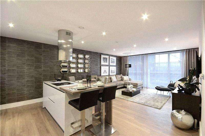 1 Bedroom Flat for sale in Rope Street, Surrey Quays, London, SE16