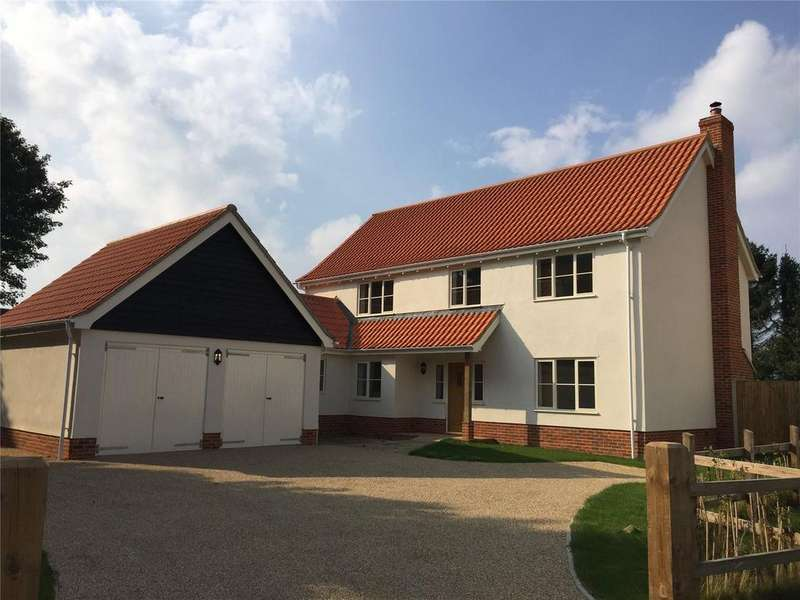 4 Bedrooms Detached House for sale in Willow Farm, Norwich Road, Yaxham, NR19