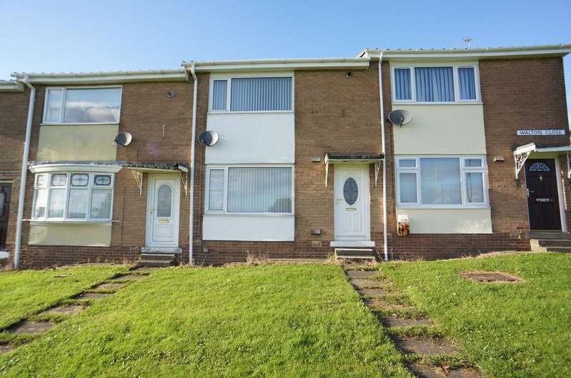 2 Bedrooms Terraced House for sale in Walton Close, Stanley