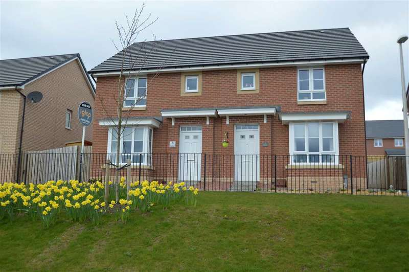 3 Bedrooms Semi Detached House for sale in Cot Castle View East, Lockhart Gardens, Stonehouse