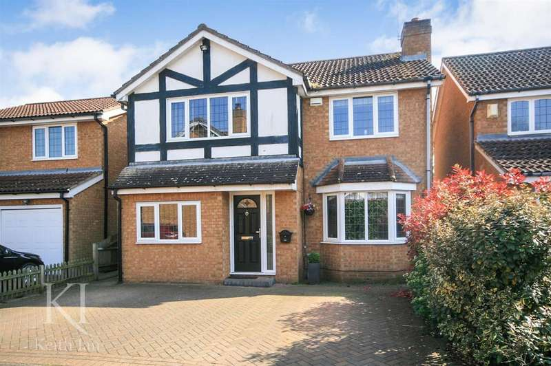 4 Bedrooms Detached House for sale in Cresset Close, Stanstead Abbotts