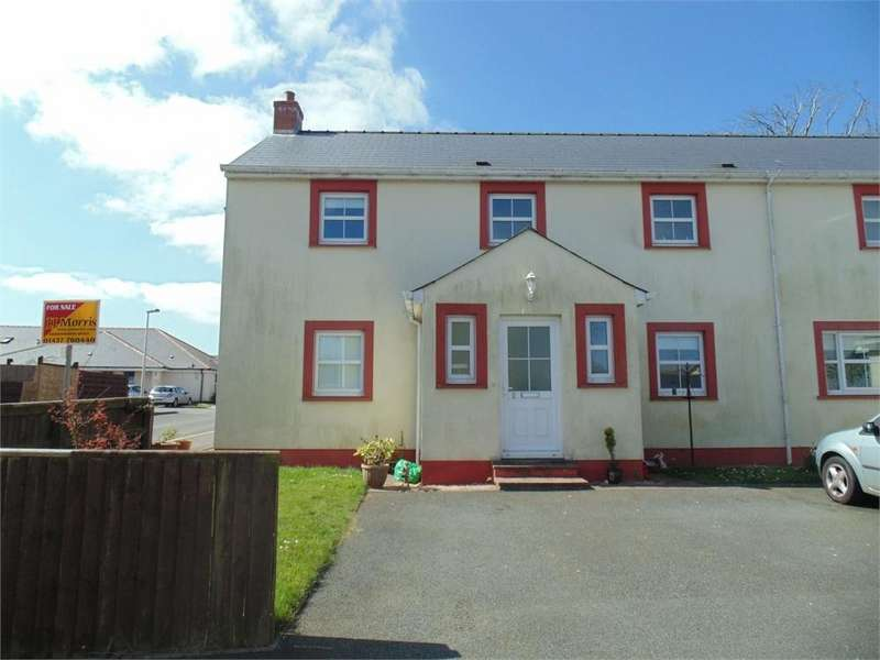 3 Bedrooms Semi Detached House for sale in Hall Court, Johnston, HAVERFORDWEST, Pembrokeshire