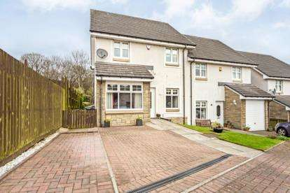 4 Bedrooms Semi Detached House for sale in Barwood Drive, Erskine, Renfrewshire