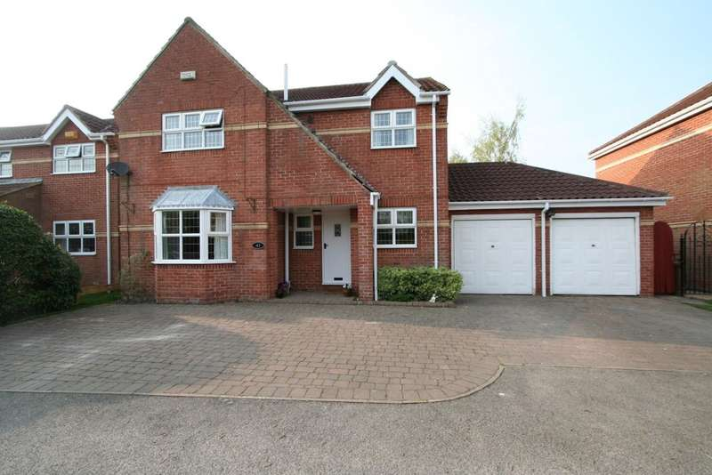 4 Bedrooms Detached House for sale in Willow Garth, Eastrington