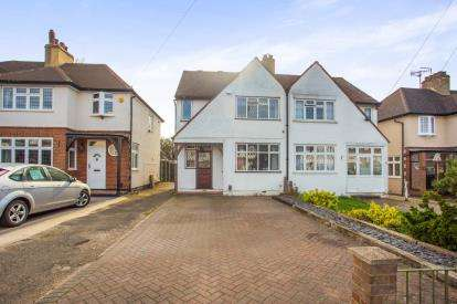 4 Bedrooms Semi Detached House for sale in Goodwood Avenue, Watford, Hertfordshire, .