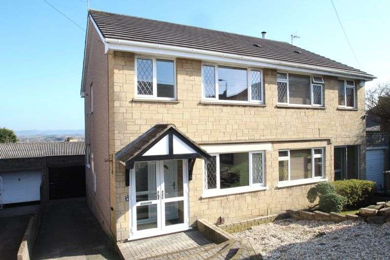 3 Bedrooms Semi Detached House for sale in Dyrham Close Kingswood, Bristol