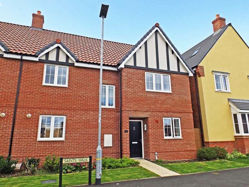 4 Bedrooms Semi Detached House for sale in Saints walk, Kedington, Suffolk, CB9