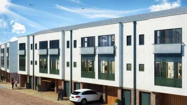 3 Bedrooms Town House for sale in Millers Hill, Margate Road, Ramsgate