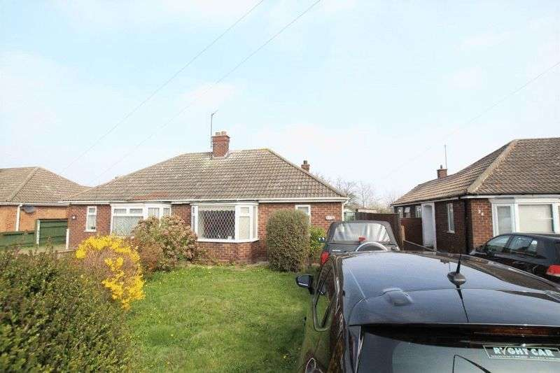 2 Bedrooms Semi Detached Bungalow for sale in MANBY ROAD, IMMINGHAM