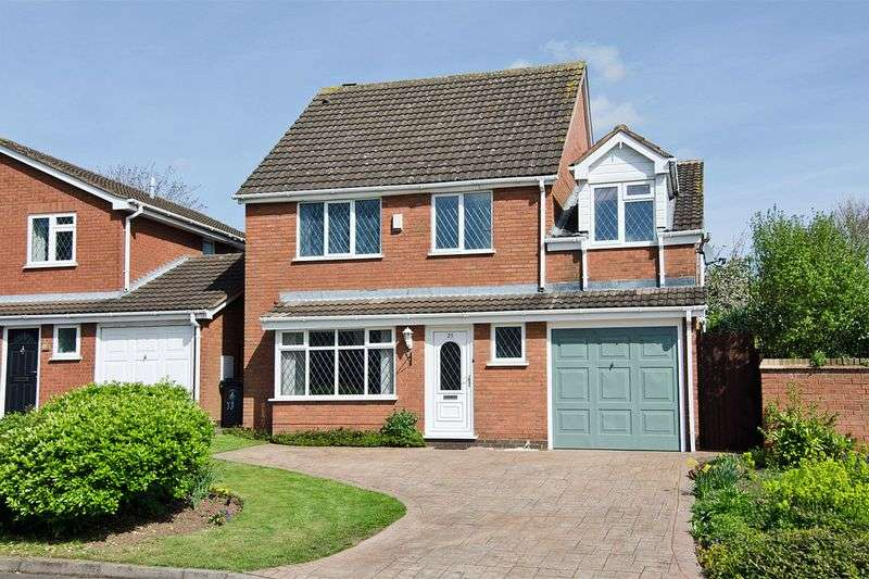 5 Bedrooms Detached House for sale in Hartslade, Boley Park, Lichfield