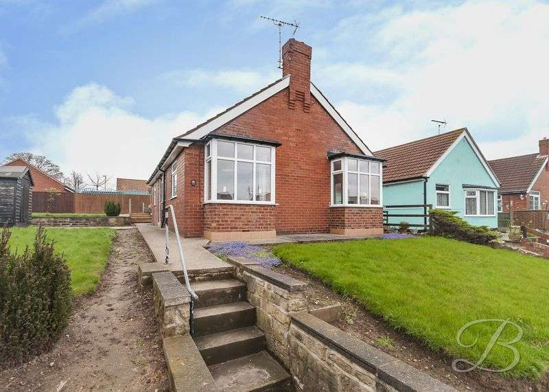 2 Bedrooms Detached Bungalow for sale in Butt Lane, Mansfield Woodhouse
