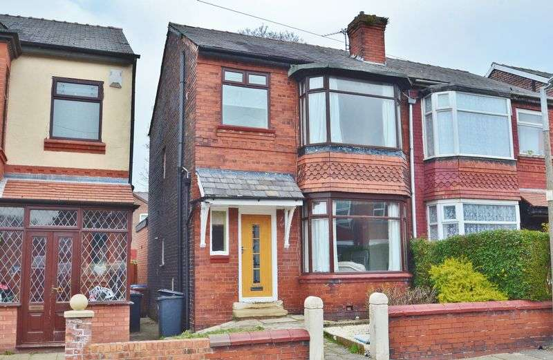 3 Bedrooms Semi Detached House for sale in Cholmondeley Road, Salford