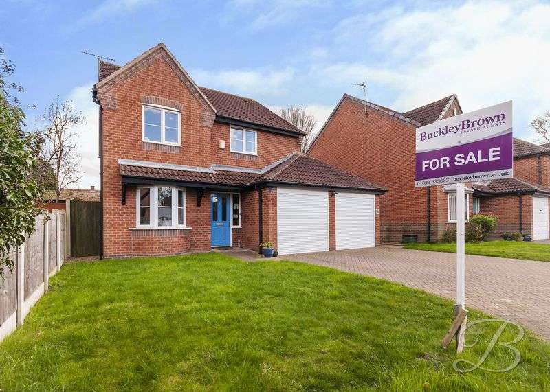4 Bedrooms Detached House for sale in Dukeries Crescent, Edwinstowe