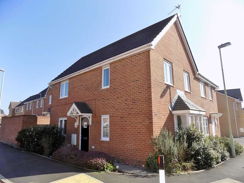 3 Bedrooms Semi Detached House for sale in Ffordd Maendy, Sarn, Bridgend. CF32 9EZ