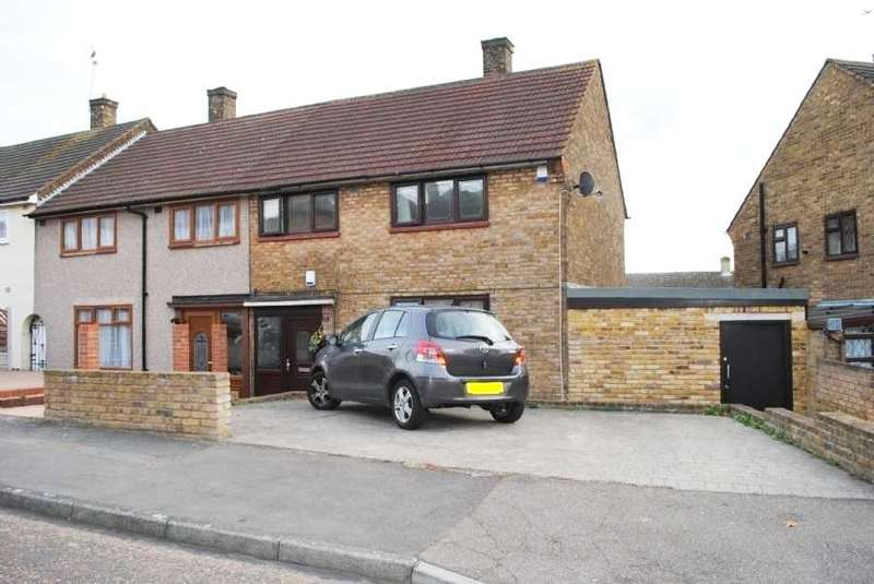 3 Bedrooms End Of Terrace House for sale in Preston Road, Romford