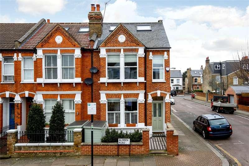 3 Bedrooms Semi Detached House for sale in Aldren Road, London, SW17