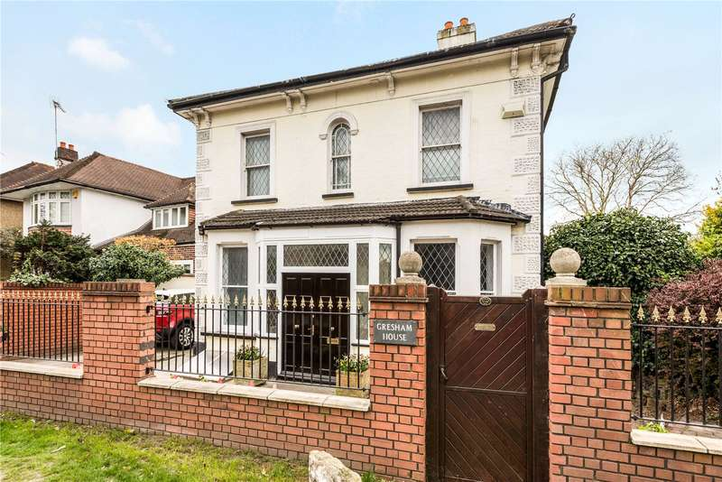 4 Bedrooms Detached House for sale in Epsom Road, Epsom, Surrey, KT17