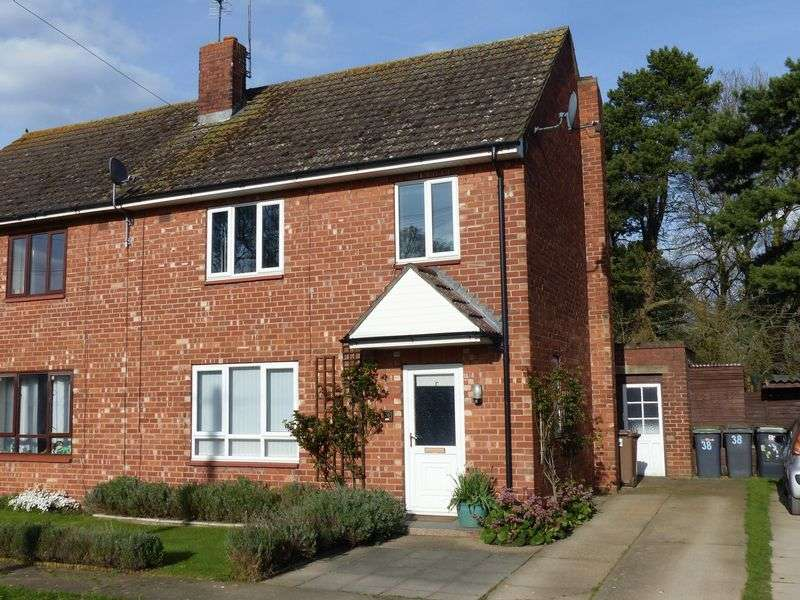 3 Bedrooms Semi Detached House for sale in Wegberg Road, Nocton