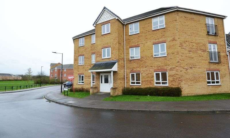 2 Bedrooms Flat for sale in Wakelam Drive, Doncaster