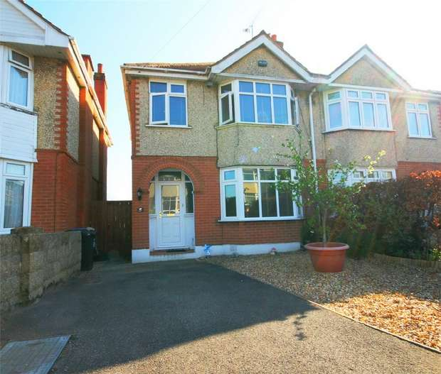 3 Bedrooms Semi Detached House for sale in BRANKSOME, Poole, Dorset