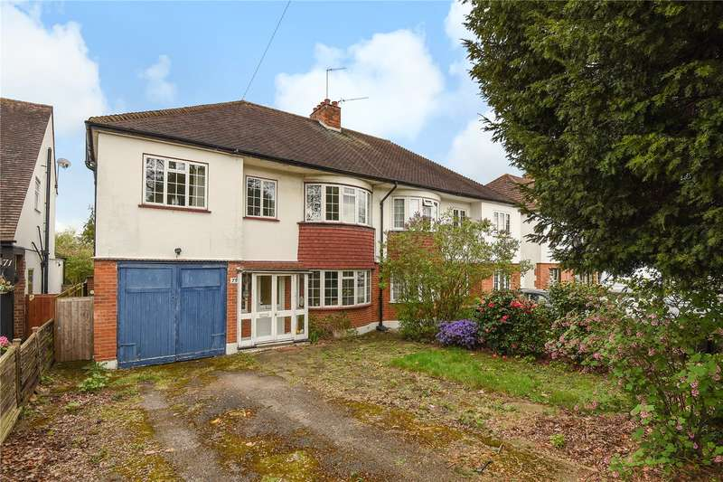 4 Bedrooms Semi Detached House for sale in Eastcote Road, Ruislip, Middlesex, HA4