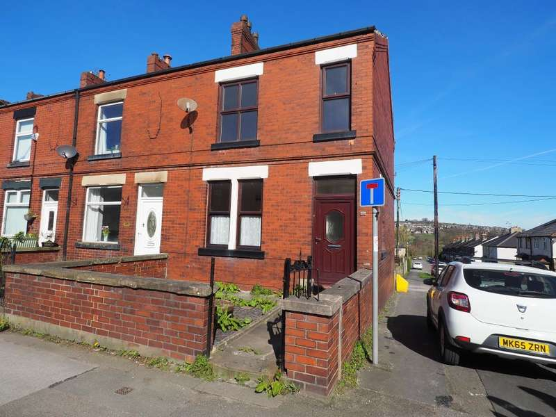 2 Bedrooms End Of Terrace House for sale in Buxton Road, Newtown, Disley, Stockport, SK12 2RA