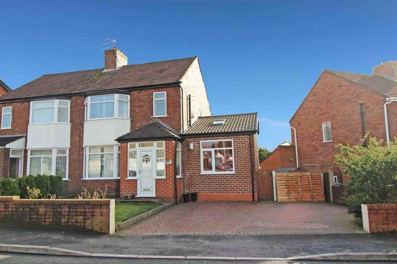 4 Bedrooms Semi Detached House for sale in Rainford Road, Billinge, Wigan