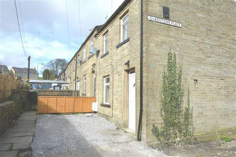2 Bedrooms Cottage House for sale in Gladstone Place, Denholme BD13, Denholme