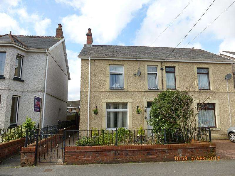3 Bedrooms Semi Detached House for sale in Talbot Road, Ammanford, Carmarthenshire.