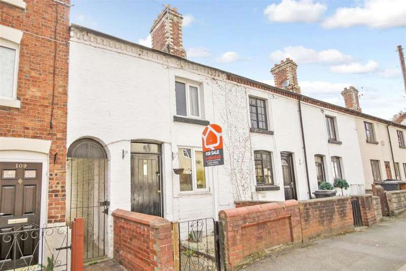 2 Bedrooms Terraced House for sale in Willow Street, Oswestry