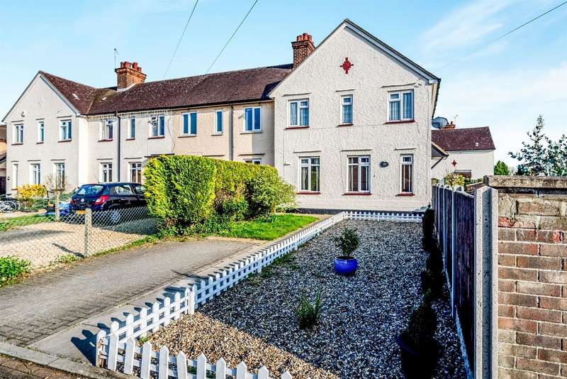 3 Bedrooms Terraced House for sale in Roxton Road, Great Barford, Bedford, MK44