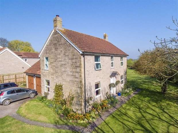 4 Bedrooms Detached House for sale in North Barrow, Yeovil