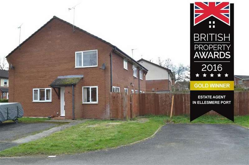 1 Bedroom Semi Detached House for sale in Ann Close, CH66