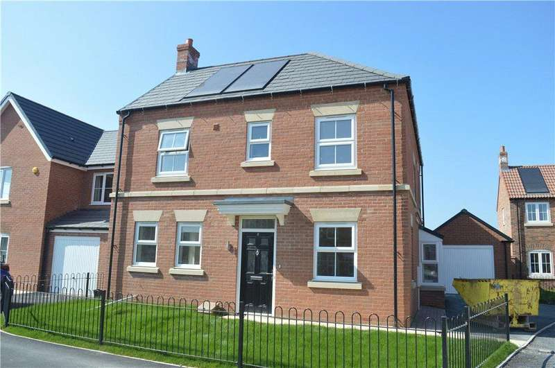 4 Bedrooms Detached House for sale in The Oaks, Topcliffe Road, Thirsk