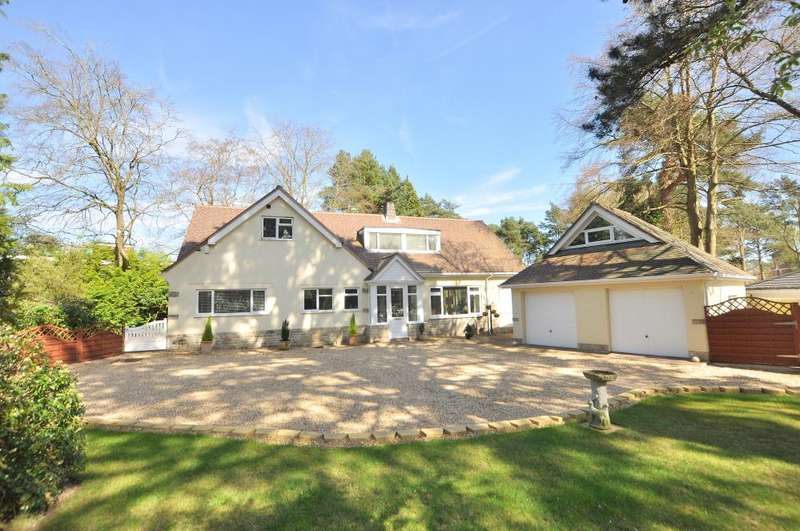 5 Bedrooms Detached Bungalow for sale in Golf Links Road, Ferndown